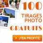 100 tirages photo gratuits par Photobox