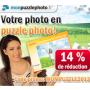 Le puzzle photo personnalisé avec 14% de réduction chez monpuzzlephoto