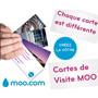 MOO : Personnalisez vos cartes de visite