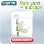 OOPRINT : 40% de réduction sur les faire-part de mariage