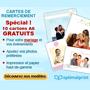 OPTIMALPRINT : 10 Cartes de remerciement gratuits