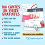 OPTIMALPRINT : 100 cartes de visite gratuites