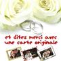 POPCARTE : Dites merci après votre mariage