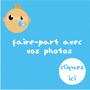 POPCARTE : Faire-part de naissance avec vos photos