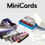 MOO : 100 mini cartes de visite différentes pour 11,75 euros