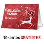 VISTAPRINT : 10 cartes de voeux gratuites