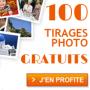 100 tirages photo gratuits par Photobox